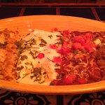 Enchiladas Banderas (Vegetarian)