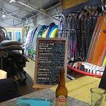 Un vrai surf shop ...