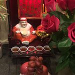 Big fan of Boba shakes and beautiful offering to Buddha