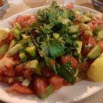 A quite spicy salad