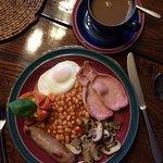 Well displayed English Breakfast