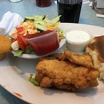 My country fried chicken dinner! Delicious!