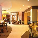 Innovation Lounge and Crowne Plaza Lobby