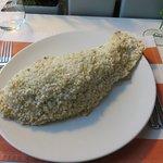 ryba dorada pieczona w soli