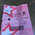 Just think cinema is so expensive now ! Lucky they still do Tesco vouchers !  Nice evening out