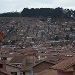 vista de cuzco desde el balcon de la habitacion