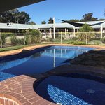 Very clean pool and surrounds