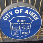 City of Aiken sign