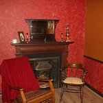 There's a real wow factor when you step into the Sherlock Holmes room at Escapade Cobh
