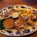 Stuffed and Grilled Shrimp with Crabcake