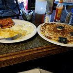 They call this a medium pancake!