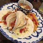 Loved the chips & salsa to when done properly. The food was average but this may have been partl