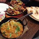 Chicken Karahi & Mixed Grill Platter