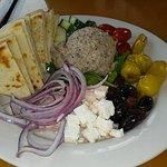 Black Bean Hummus Platter