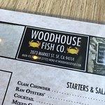 Address at top of menu