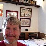 Selfie at Taverna Ripetta