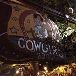Our concierge recommended Cowgirl BBQ, a fun place with music close by.