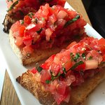 Delicious bruschetta!