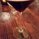 Espresso martini...a must for after dinner.
