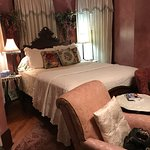 Love the antiques! Bed was very comfortable