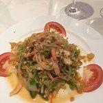Un exemple d'entrée du menu Thaï ...