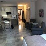 lägenhet mot kök