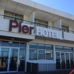 Exterior View Of The Pier Hotel-Inside Is better Than How It Looks Outside