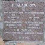 PUERTA DEL KRUGER EN PHALABORWA