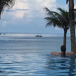 Amazing infinity pool at Cassia Cottages