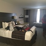 Absolutely love country inn and suites. This is one of the studio rooms.