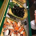 海鮮區食材也不多