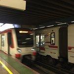 Metro Arte Santiago Foto