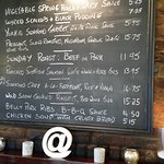 Menu - The Ferryboat Inn Picture