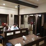 Dining room on upper floor