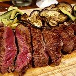 Tagliata con verdure grigliate