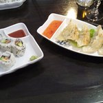 California roll et ravioli