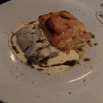 filet mignon de porc sauce au parmesan et gratin dauphinois