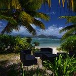 Úžasné výhledy z hotelové pláže Island Lodge