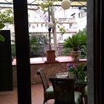 Balcony/terrace next to room