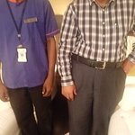 Me with Kannadashan an honest housekeeper working in a faithful way