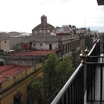 View from 6th floor room at the Hotel Catedral