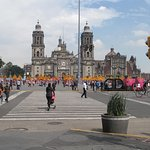 Catedral Metropolitana and the zocalo near the Hotel Catedral