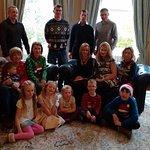 Family Christmas celebration at Ardtara (mid-November)