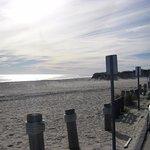 view from Cooper's beach ramp