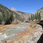 The Durango and Silverton Narrow Gauge RR - This is late autumn - I'd like to see it in Spring!