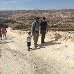 Rabbi Eitan walking up Herodian