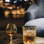 Enjoy a drink at the Panorama Bar & Lounge