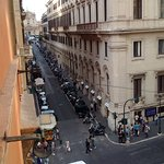 view from our room on Via Firenze