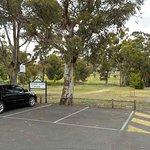 Park Entrance and car park