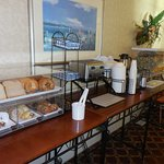 Breakfast breads counter